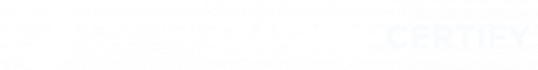 CypherWorx CERTIFY